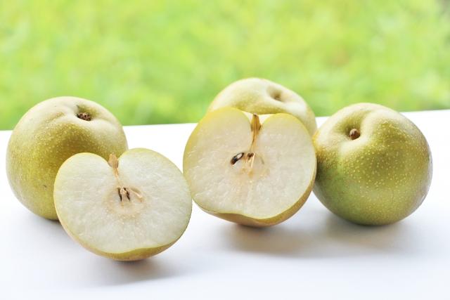 【カット画像必見】秋スイーツ梨はおいしい上にダイエットに最適!栄養と効果を簡単に説明します!