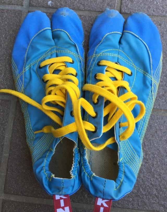 陸王モデルのランニング足袋「無敵」。3足履き倒した僕が、履き始めの疑問点3つと注意した3つのポイント