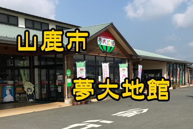 【熊本県穴場観光スポット!】山鹿市の夢大地館はどんなところ?
