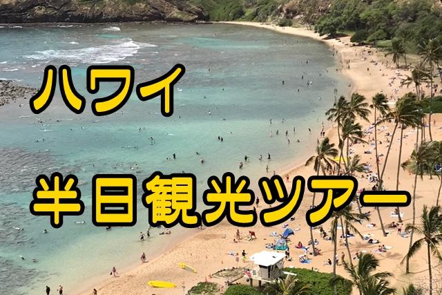 【ハワイ新婚旅行】口コミよし!笑顔になれるオアフ島観光おすすめツアー